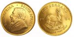 1 oz Gold South African Krugerrand. Random Dates available