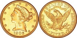 $5 Liberty Gold Half Eagles 1839-1908! Vf Thru Mint State!