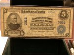 1902 $5 Washington Park NB of Chicago, IL National 3916!