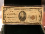 1929 $20 Washington DC 5046 National!