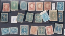 Nice Original Confederate Stamp lot.