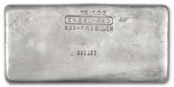 100 oz Engelhard Bars!