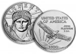 1oz American Platinum Eagle. Current and Back Dates available.