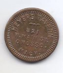 Heyers Tavern Owosso, MI Good For 5c Token