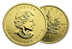 1 oz Gold Canadian Maple Leafs! Current and Back dates available