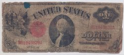 1917 $1 Legal Tender, Circulated