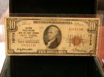 1929 $10 New York NY 10778 National!