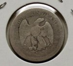 1875 S 20c Piece in AG/G!